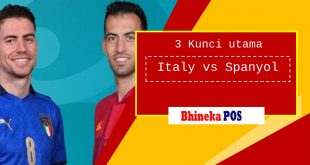 3 kunci utama pertandingan Italy vs Spanyol