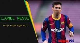 Messi Setuju pengurangan gaji
