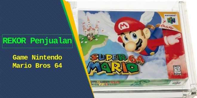 Rekor penjualan Mario bros 64