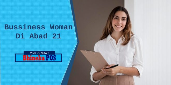 bussiness woman abad 21