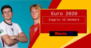 inggris vs denmark semifinal