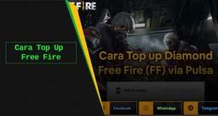 cara topup ff